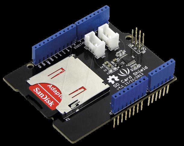 ARD SHD SD V4 - Arduino Shield - SD-Karte V4