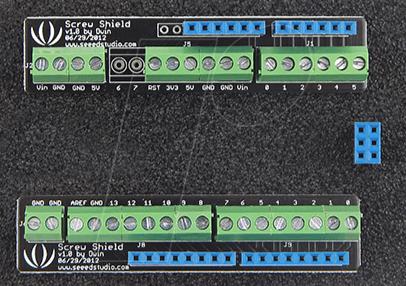 ARD SHD SCREW - Arduino Shield - Screw-Shield