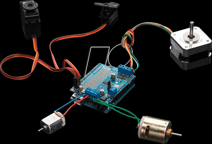 ARD SHD MOTOR - Arduino Shield - Engine, TB6612FNG