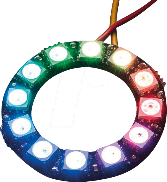 DEBO LED NP12 - Development boards - NeoPixel-Ring with 12 RGB-LEDs