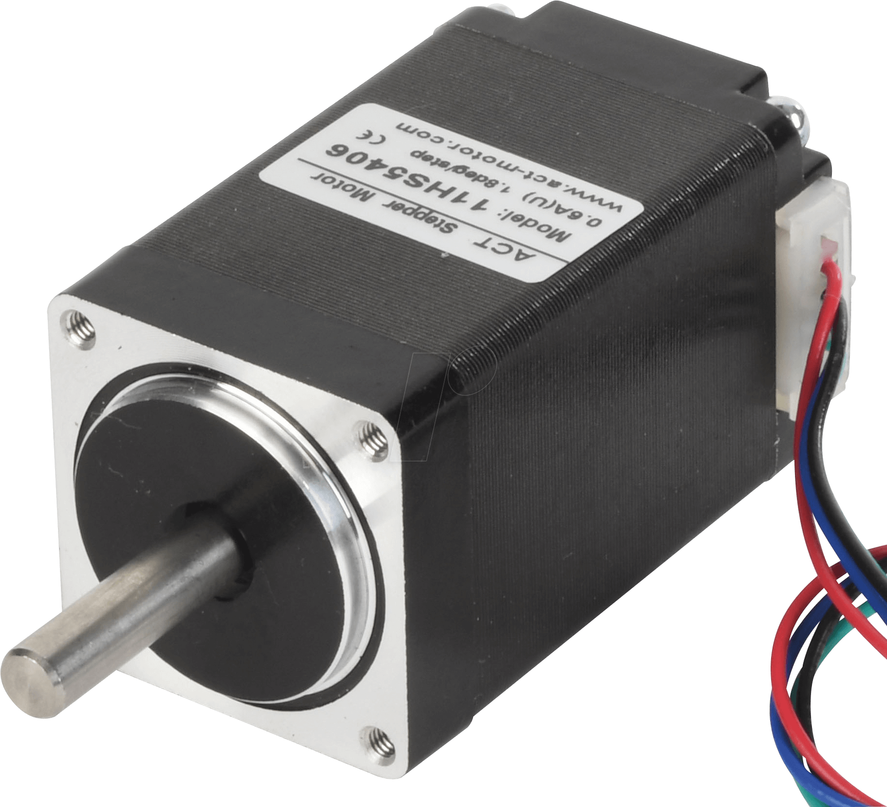 ACT 11HS5406 - Schrittmotor, 4 pol, 1,8 °, 6,2 V DC