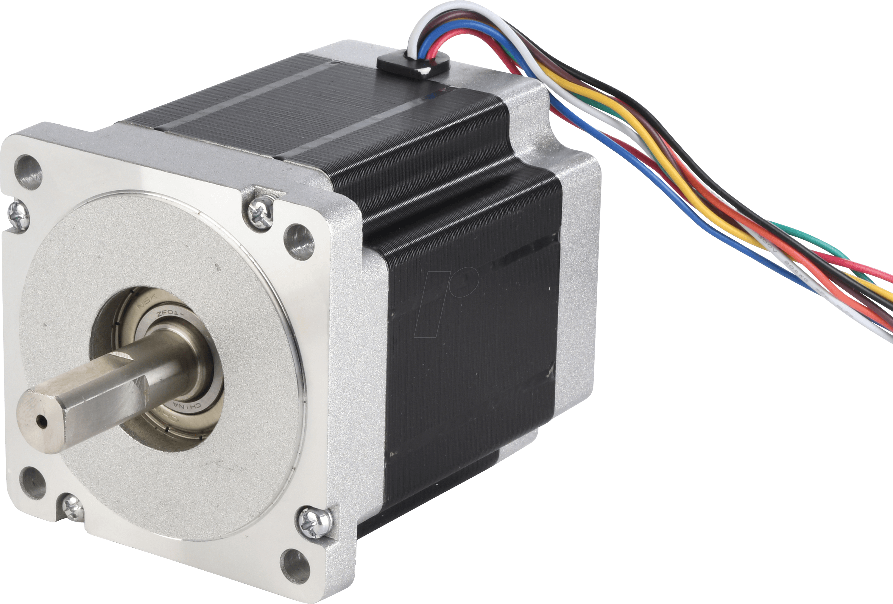 Act 34hs9820 Hybrid Stepper Motor Nema 34 18 2 A 64 V At Re To 4 Wire Telephone Circuit
