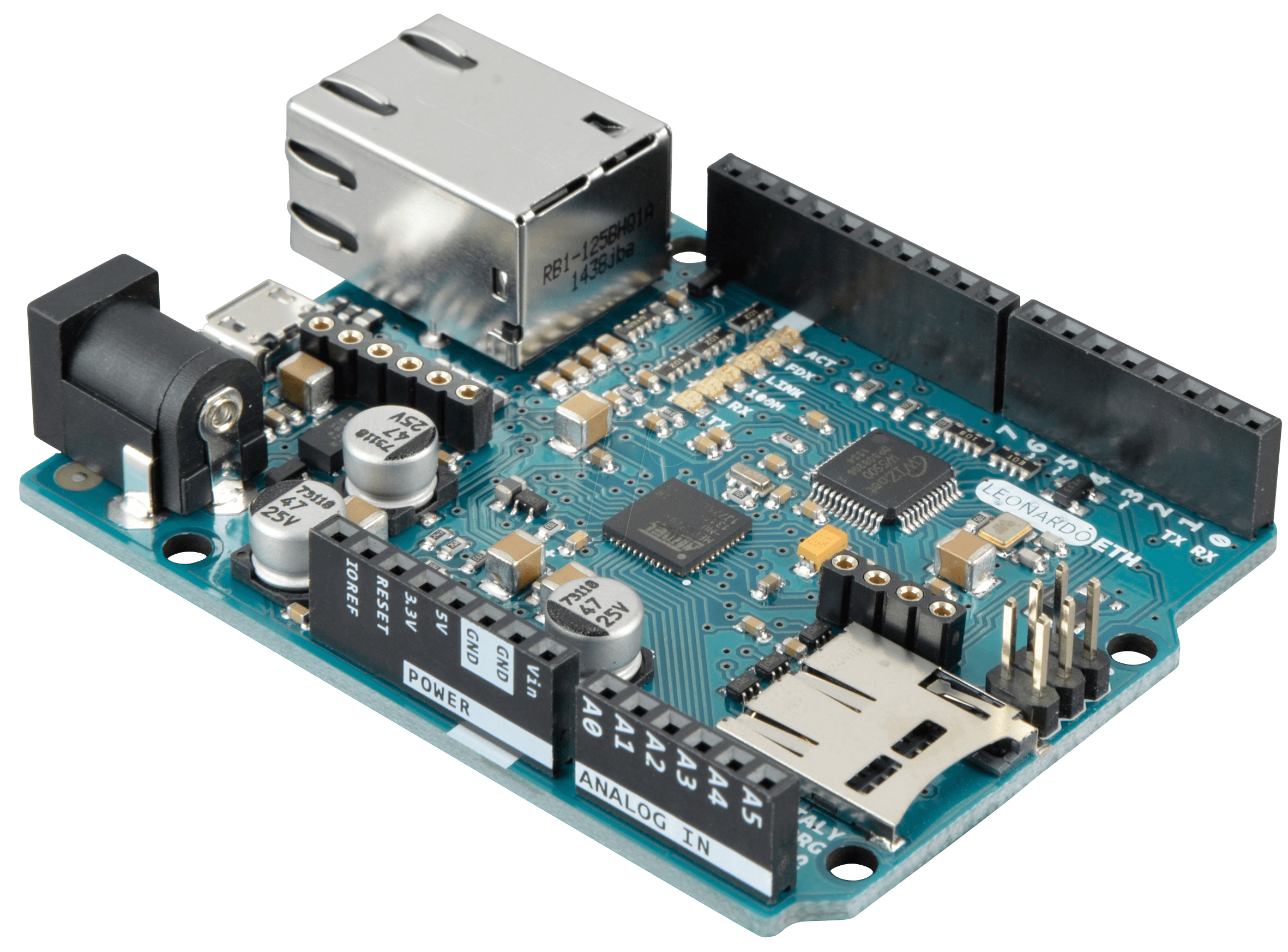 Arduino enet ethernet atmega u without poe