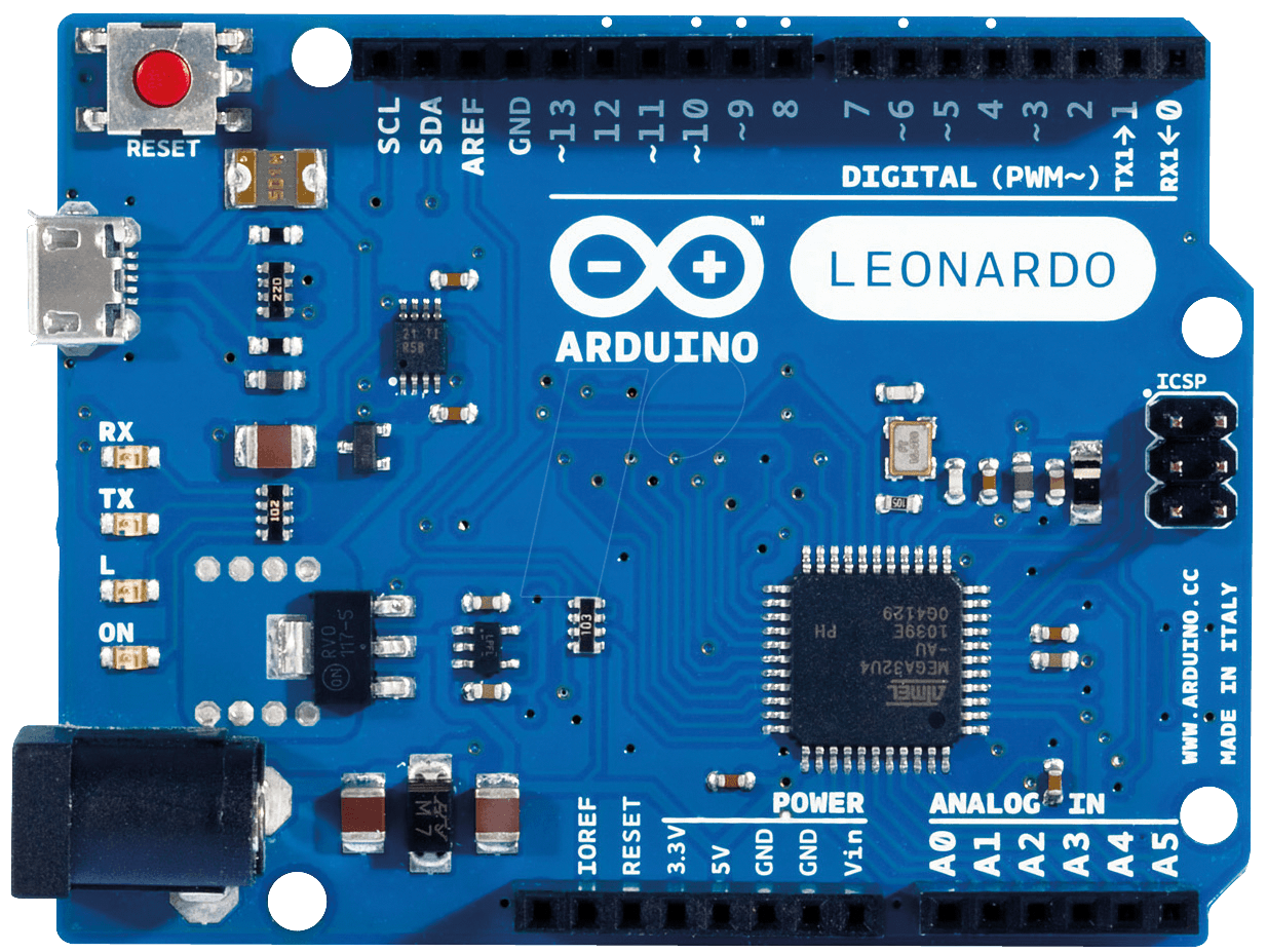 Arduino leonardo only microcontroller board