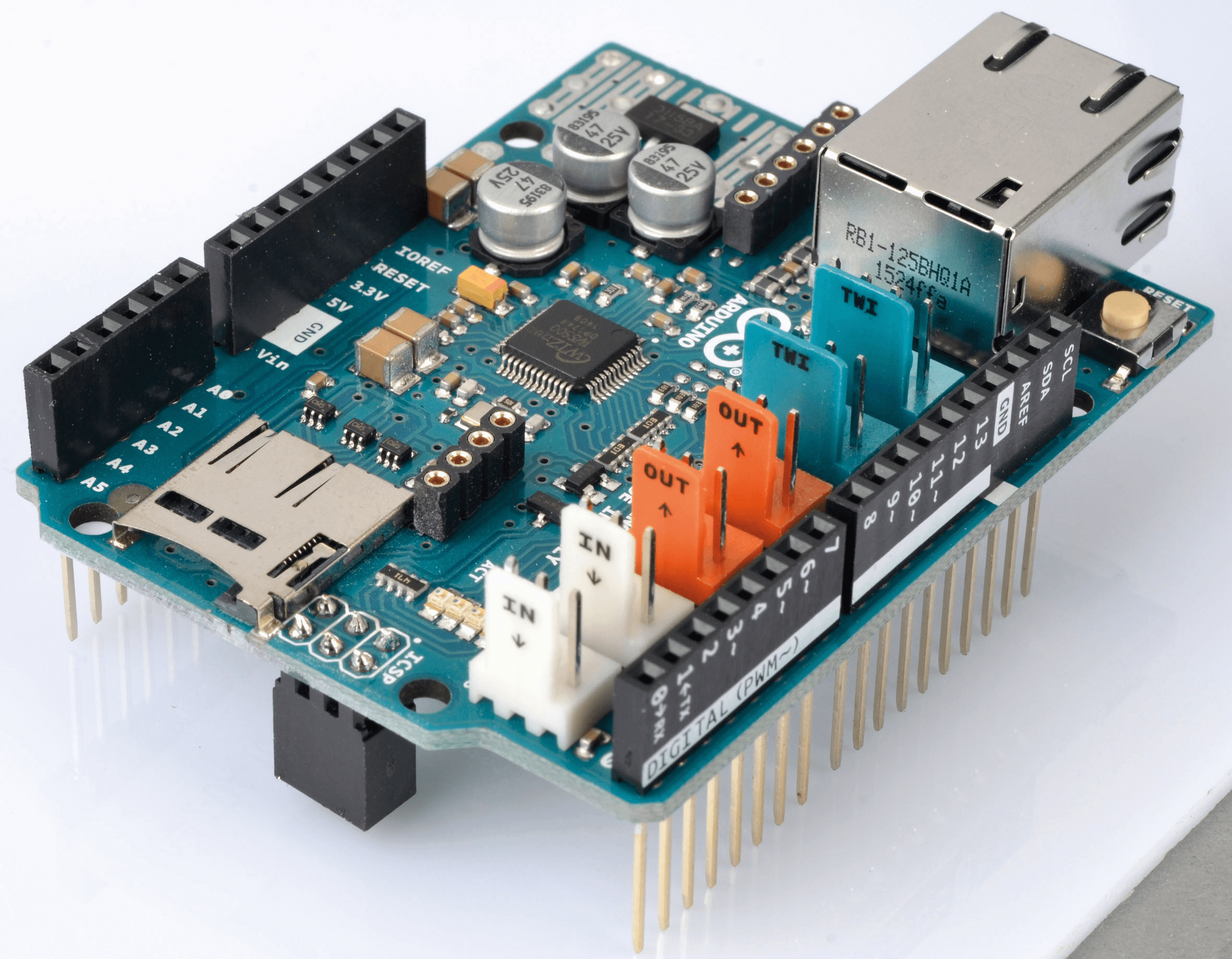 Using Arduino as a simple Web Server along with Ethernet
