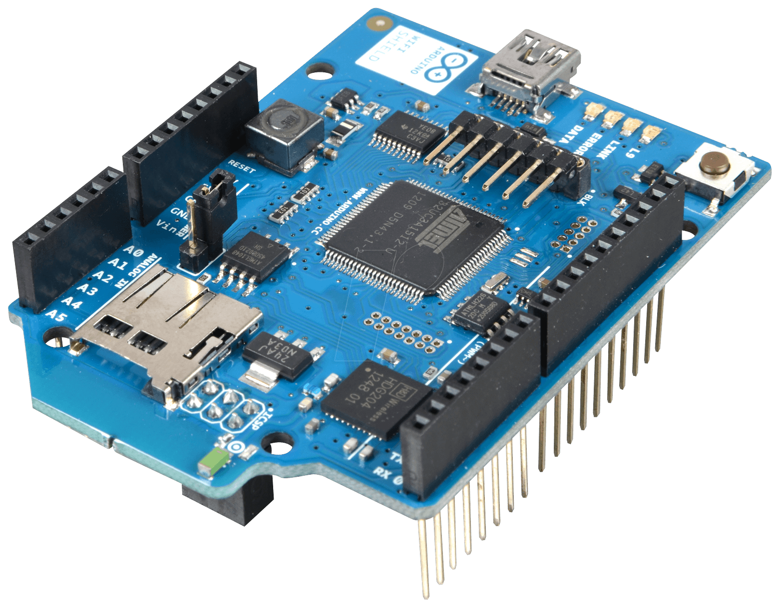 Arduino WiFi Shield integrated antenna