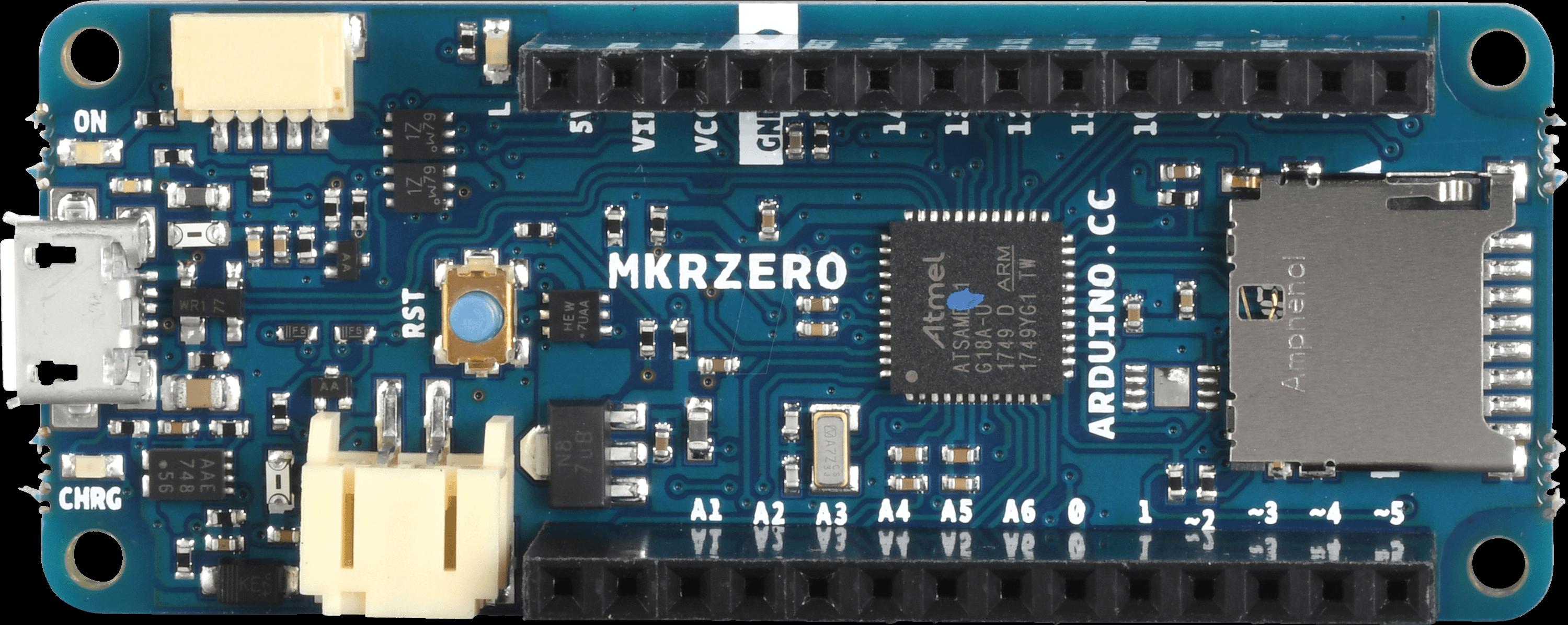 ARD MKR ZERO - Arduino MKR Zero, SAMD21 Cortex-M0+ 32 bit ARM