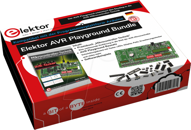 Elektor AVR Playground Bundle DE