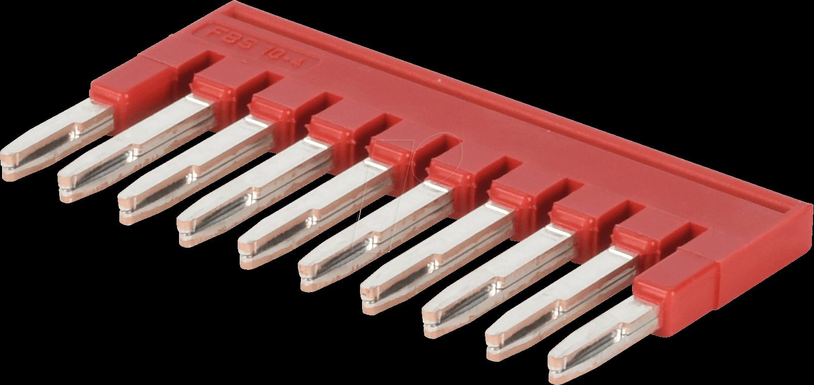 PHOENIX Steckbrücke FBS4-4 Rot 10 Stück