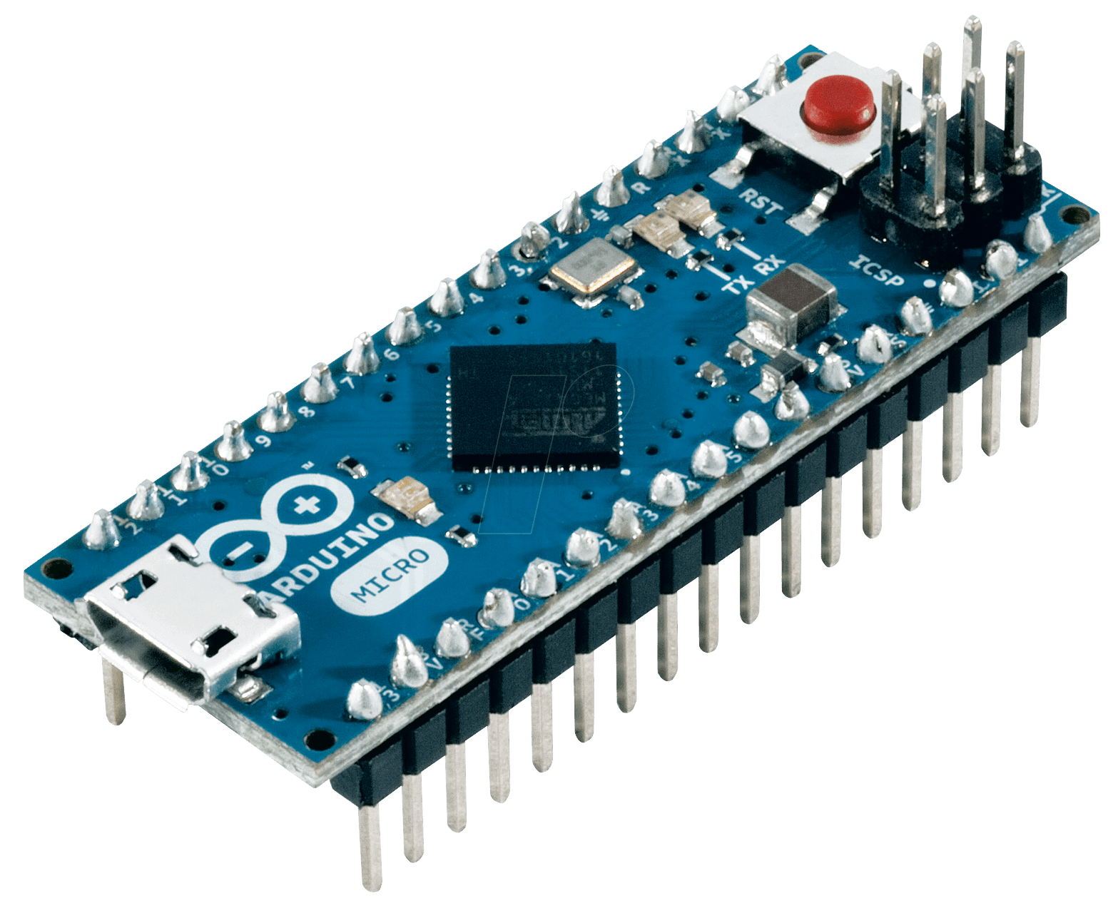 Arduino micro atmega u usb at
