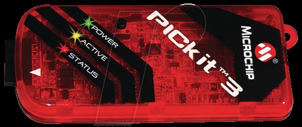 PG 164130 - Programmer/Debugger PICkit 3, USB/PC
