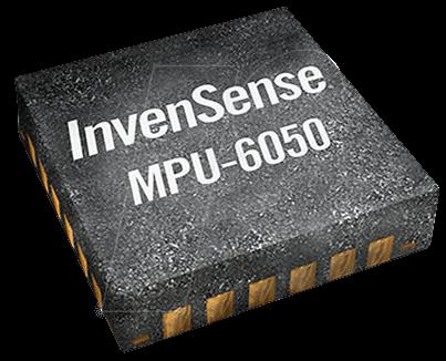 MPU 6050 - Combined sensor, 3-axis gyroscope/accel