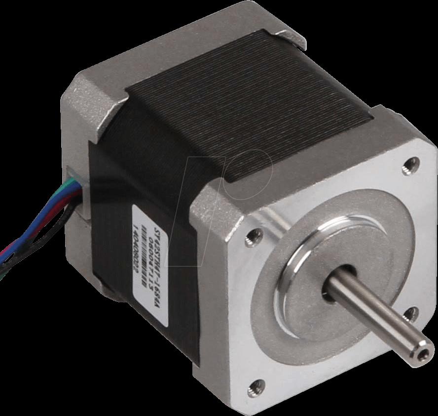 NEMA17-01 - Schrittmotor, Hoch-Drehmoment Hybrid, 2-Phasen