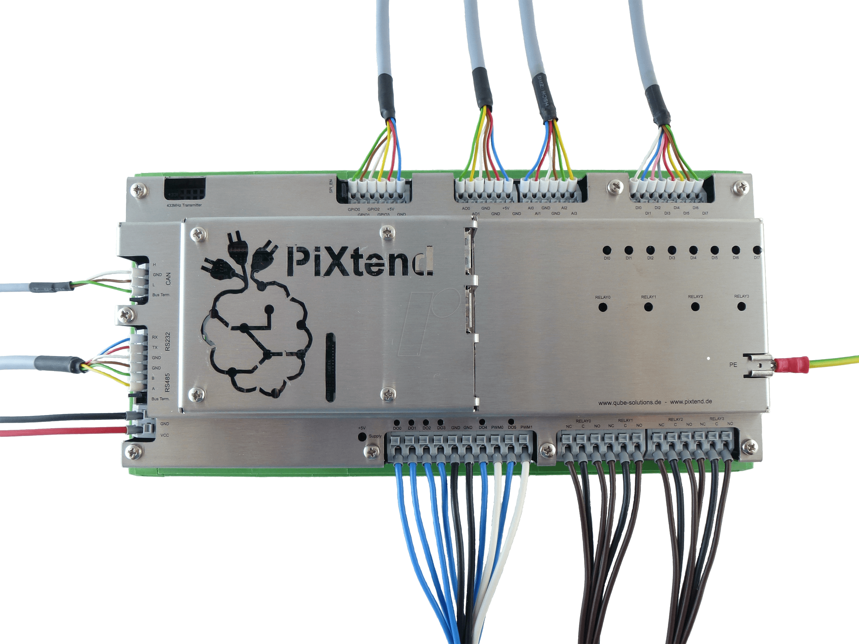 PIXTEND1 3 FULL - Raspberry Pi Shield - PLC PiXtend V1 3 Full