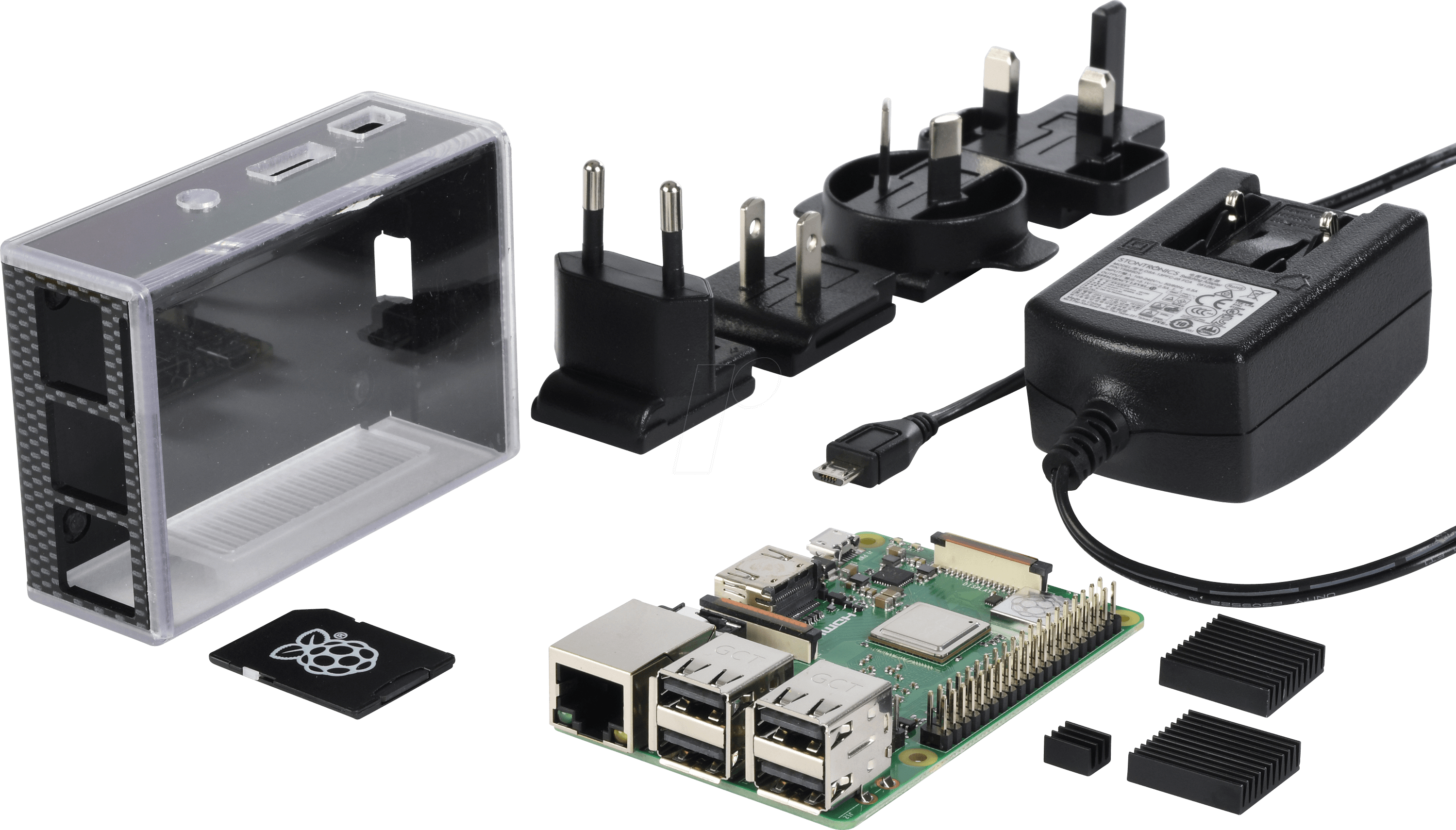 RASP 3 B+ ALL IN - The Reichelt Raspberry Pi 3 B+ all-in bundle