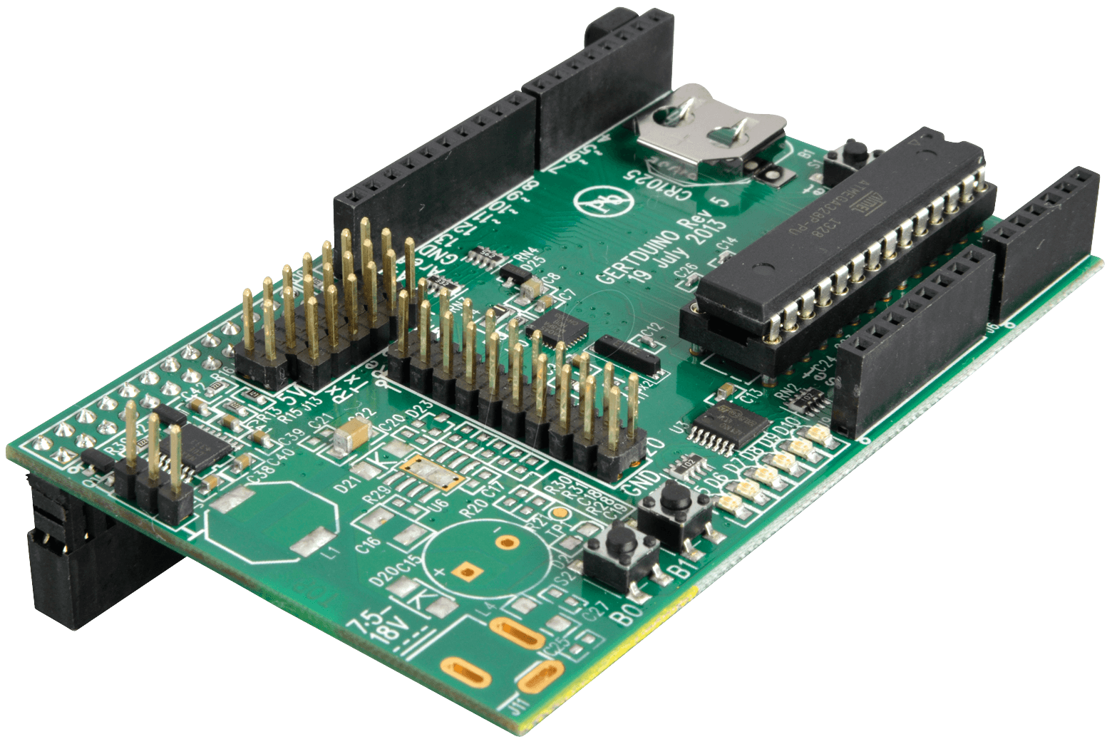 Rasp gertduino rpi expansion arduino compatible at
