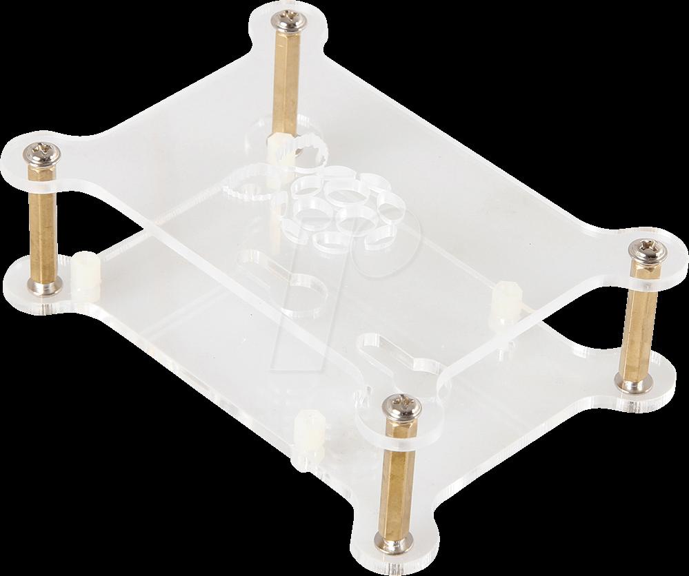 rpi case maker2x geh use f r raspberry pi 4 2x acryl On stuhle transparent acryl