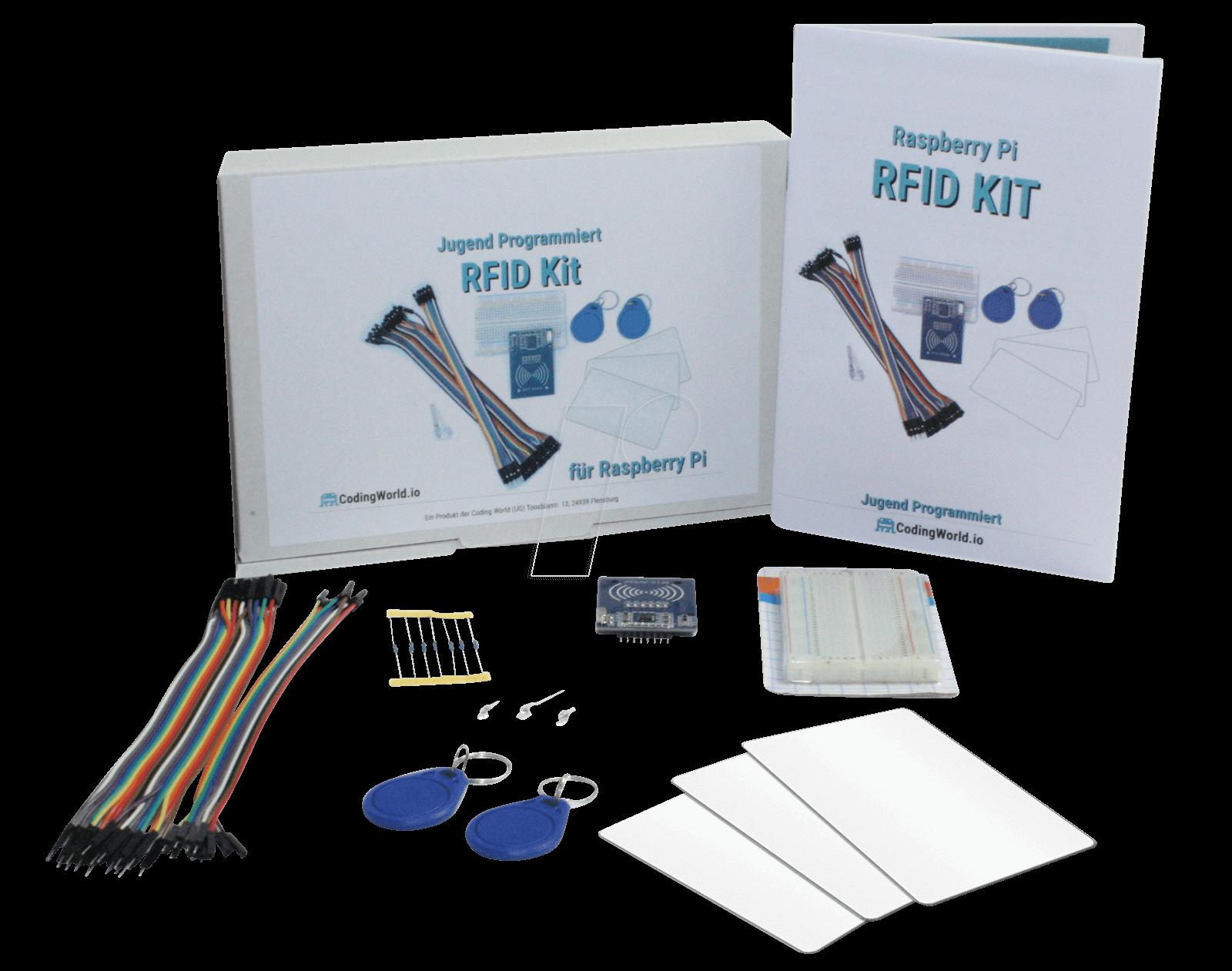 RASP JP RFID - The Teach Kids to Code RFID kit for Raspberry Pi