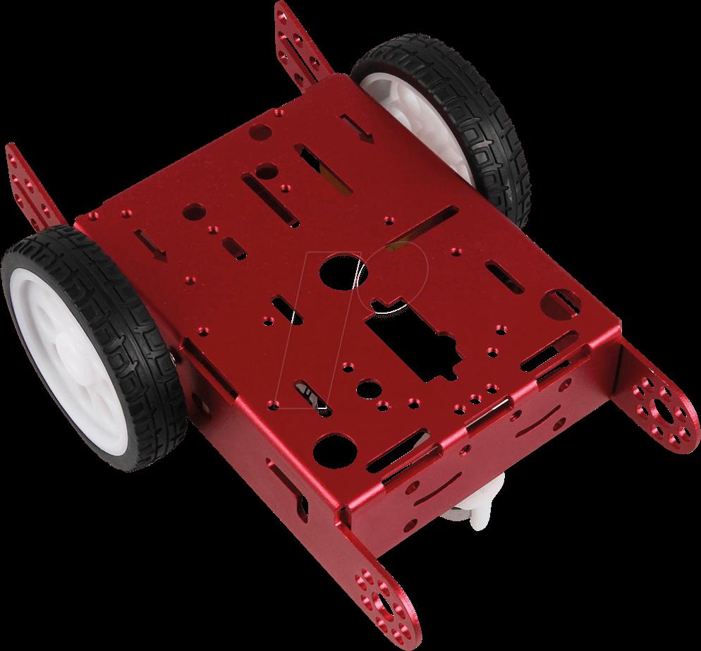 ROBOT CAR KIT 04 - Roboter Fahrgestell Kit für Raspberry Pi & Arduino
