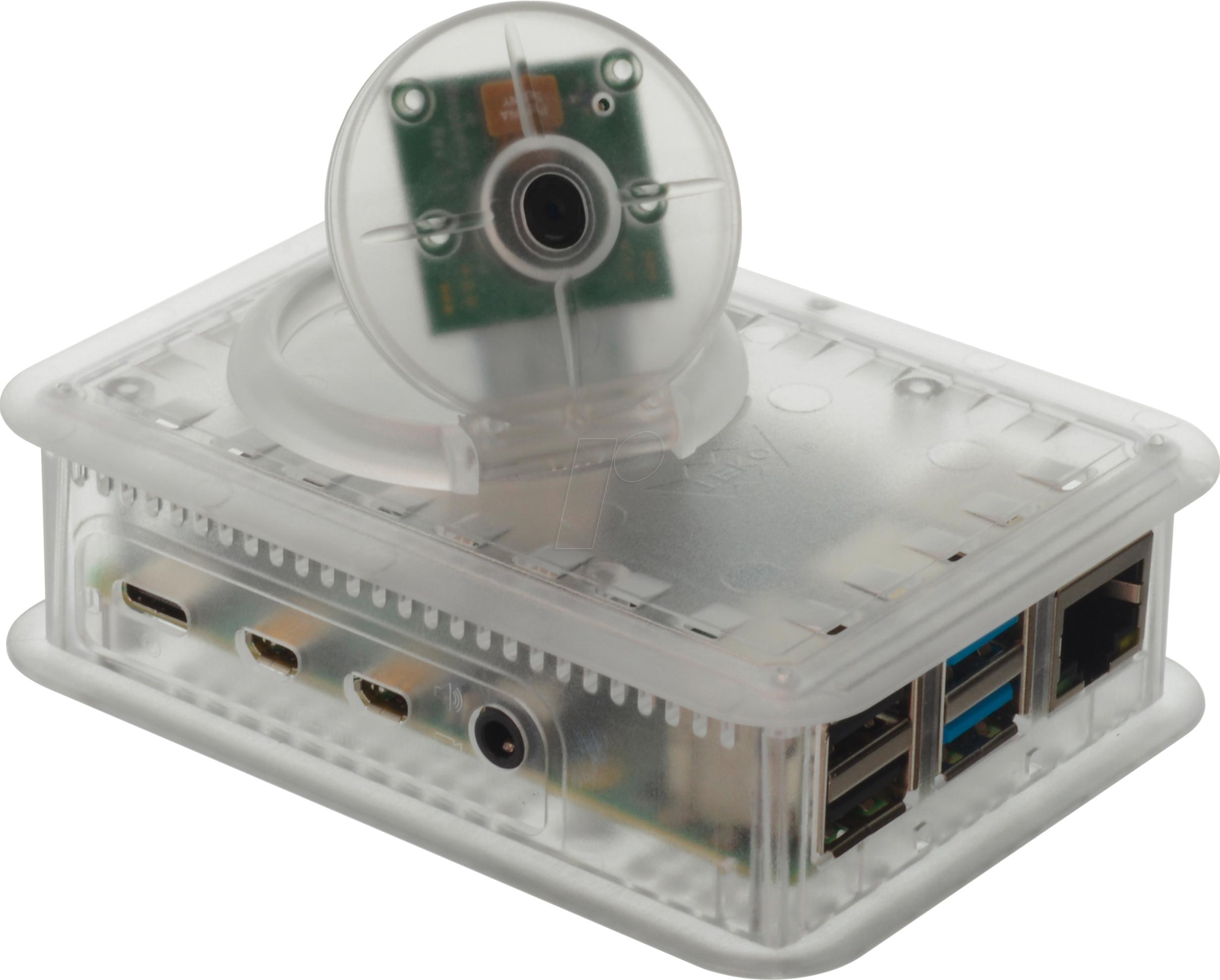 TEK-CAM4.0 TR: behuizing voor Raspberry Pi 4 & camera