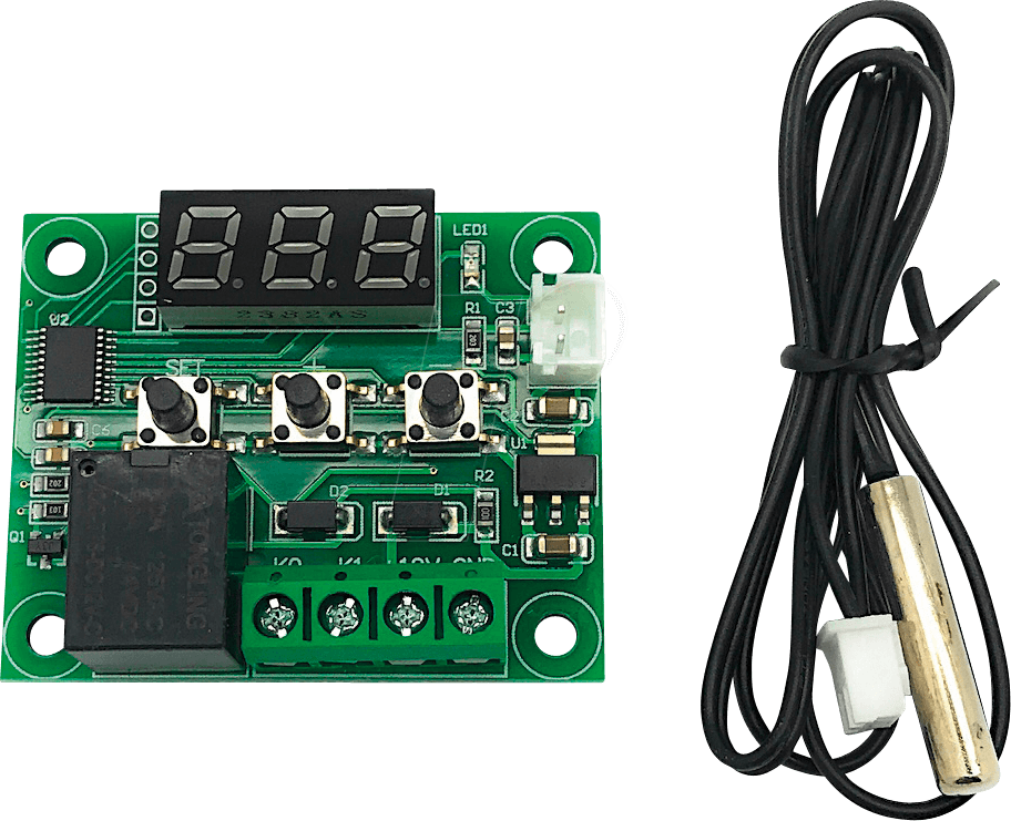 DEBO XH-W1209 T - Entwicklerboards - Thermostat, 12 V, digital