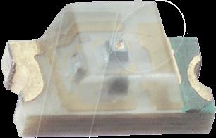 STE BR1101W - LED, SMD 1206, rot, 4,5 mcd, 150°