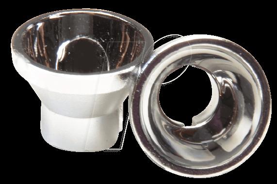 REFL METALL SI 1 - LED-Reflektor, 5 mm, metallisiert, silber