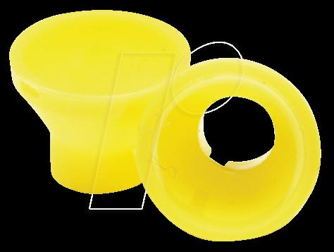 REFL MATT GE - LED-Reflektor, 5 mm, matt, gelb