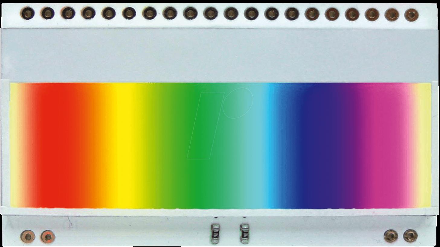ea led55x31 r led beleuchtung f r ea dogm132 52 x 16 mm rot bei reichelt elektronik. Black Bedroom Furniture Sets. Home Design Ideas