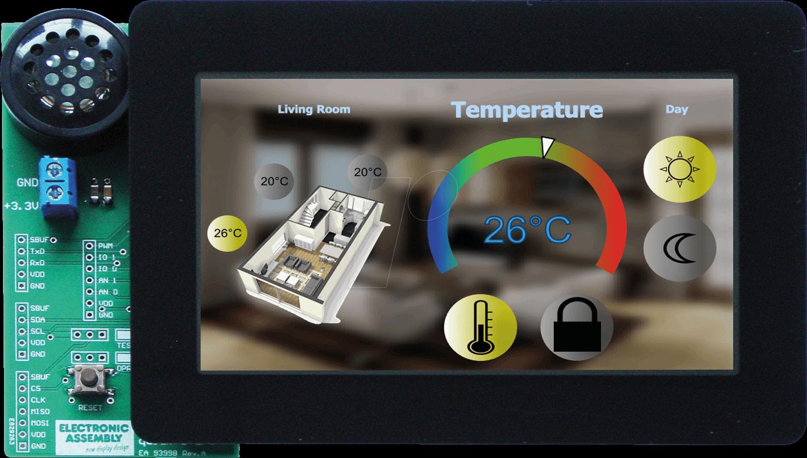 EA QUICKUNITFT05 - Starterkit Multi-TFT-Display 5