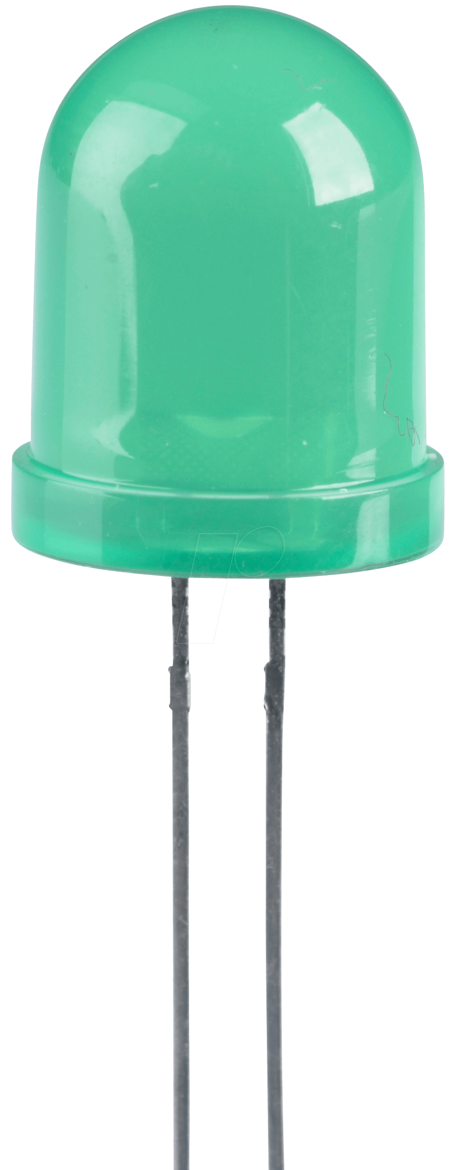 LED 10MM GN - LED, 10 mm, bedrahtet, grün, 60 mcd, 60°