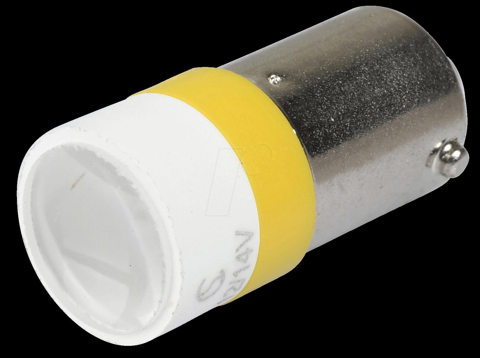 MELB 2212 - LED-Spot-Light, BA9s, gelb, 12 V, 3...