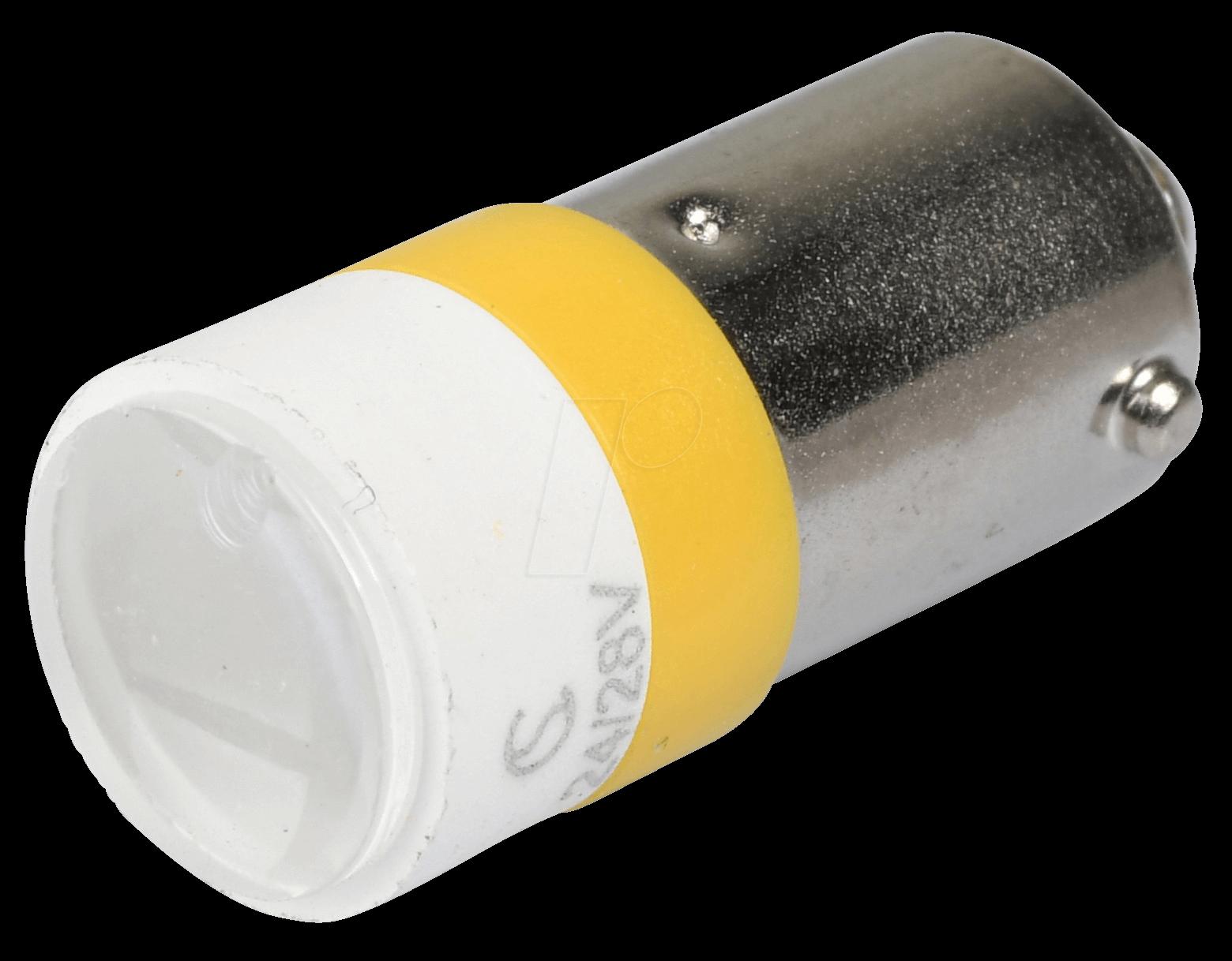 MELB 2214 - LED-Spot-Light, BA9s, gelb, 24 V, 3...