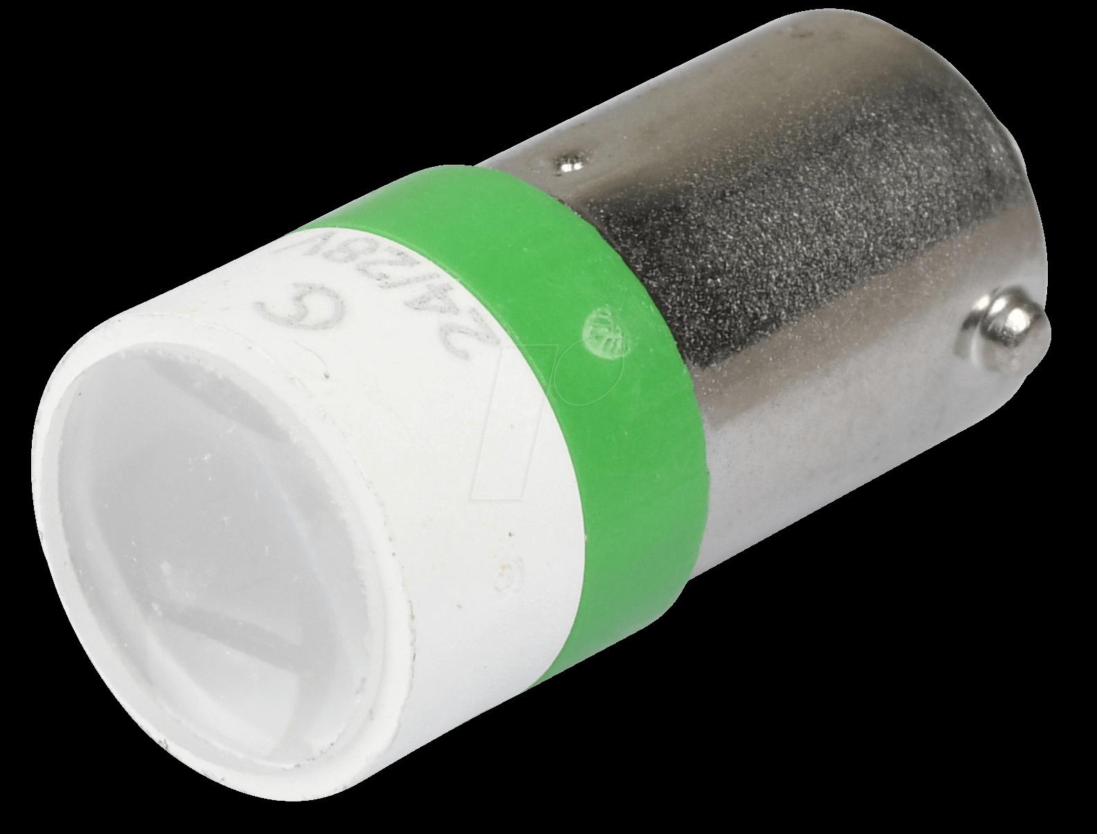 MELB 2274 - LED-Spot-Light, BA9s, grün, 24 V, 2...