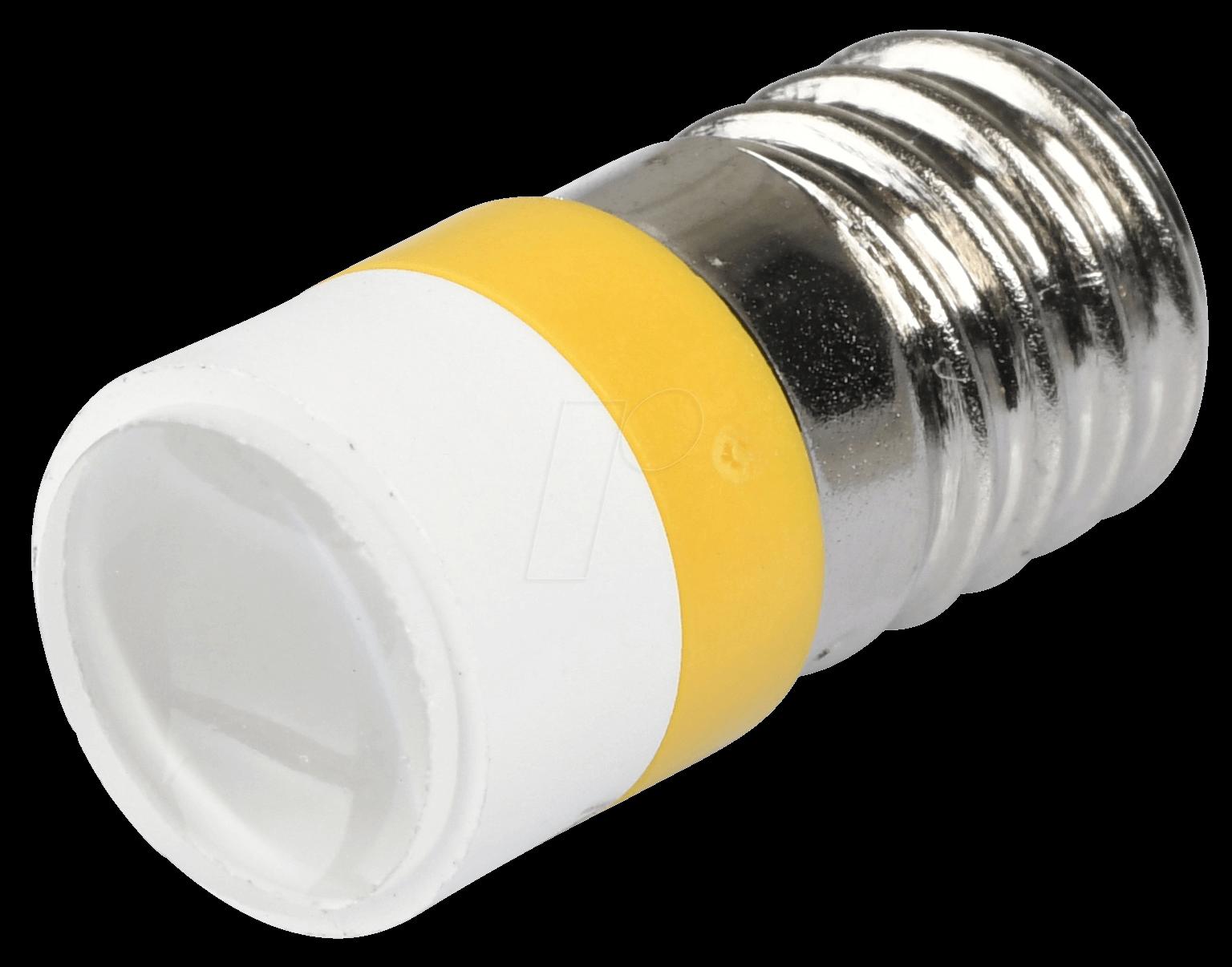 MELE 2212 - LED-Spot-Light, E10, gelb, 12 V, 35...