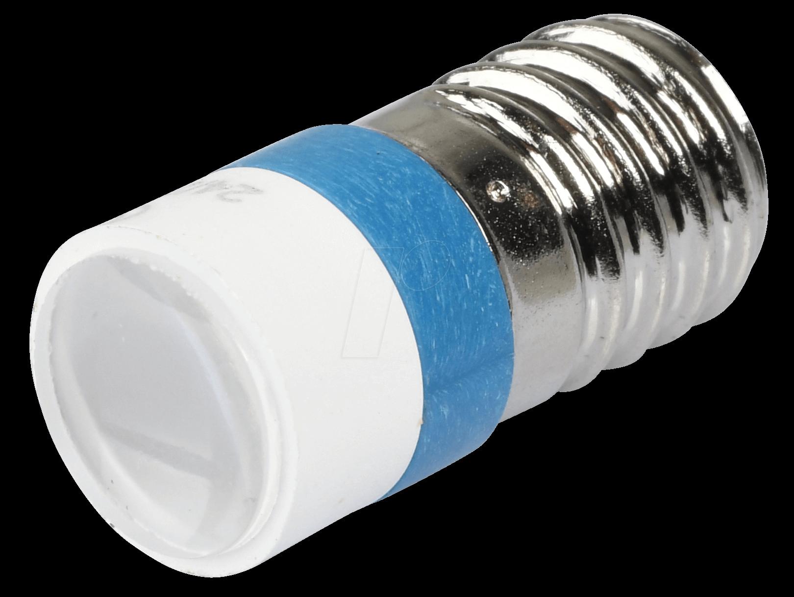 MELE 2244 - LED-Spot-Light, E10, blau, 24 V, 60...