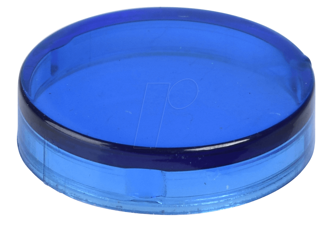 REFL KAPP GL BL - Reflektorabdeckkappe, glatt, blau