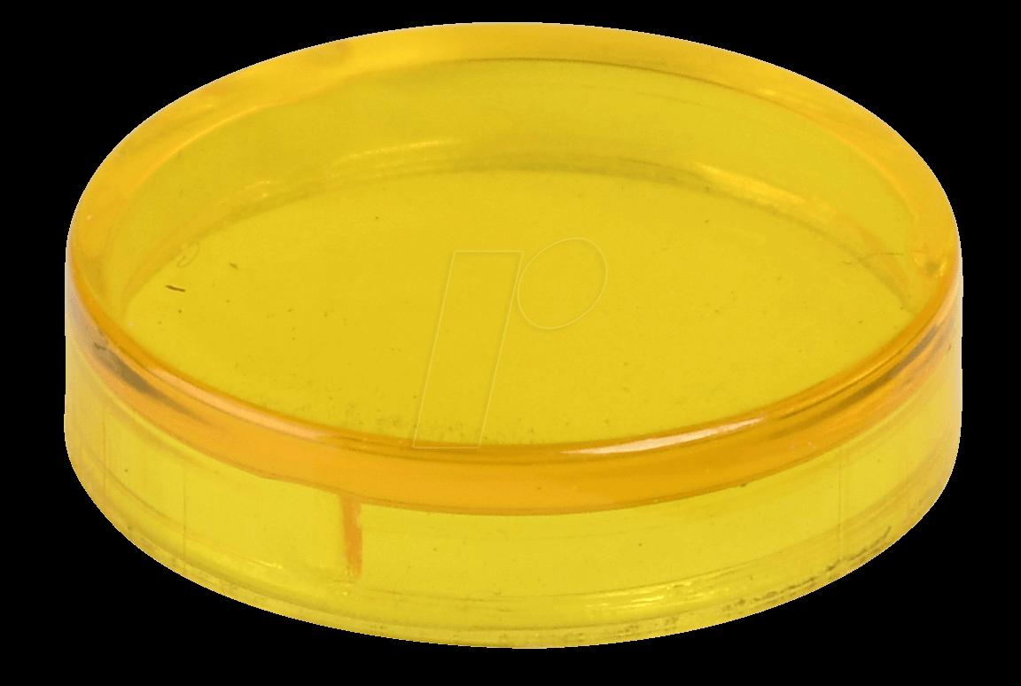 REFL KAPP GL GE - Reflektorabdeckkappe, glatt, gelb