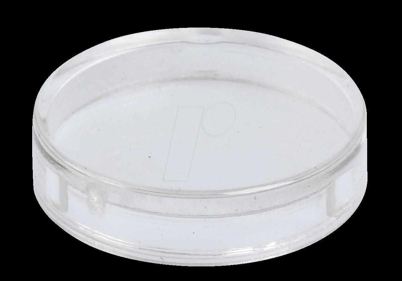 REFL KAPP GL TR - Reflektorabdeckkappe, glatt, transparent