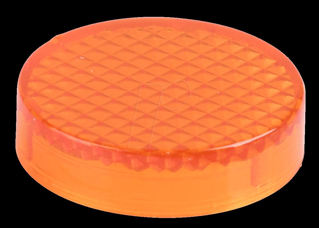 REFL KAPP ST OR - Reflektorabdeckkappe, Struktur, orange