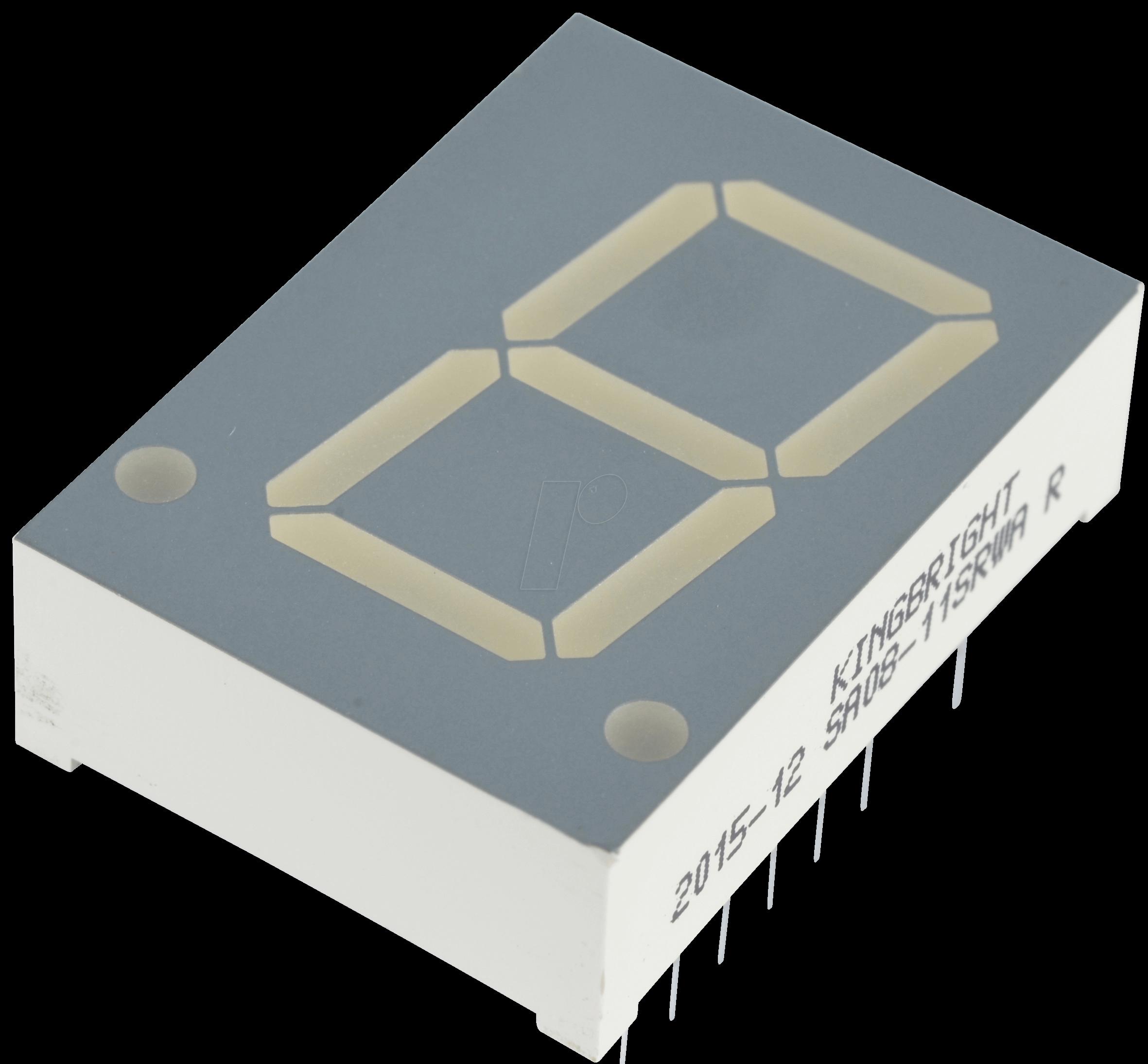 Sc10-11srwa 7-сегментный цифровой индикатор с высотой