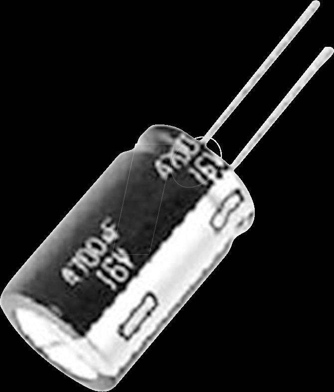 ED-A 22U 200 - Elko, radial, 22 µF, 200 V, RM 5, 105°C, 8000 h, 20%