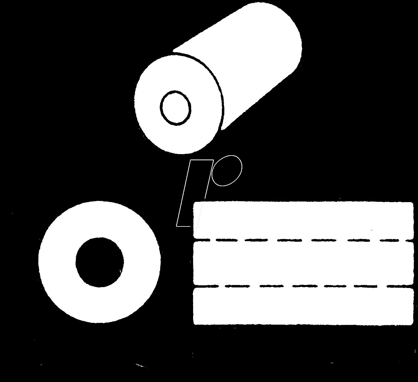 AMI FB-73-2401 - Ferritkern für Ø 5 mm, 3,13 µH, Material: 73