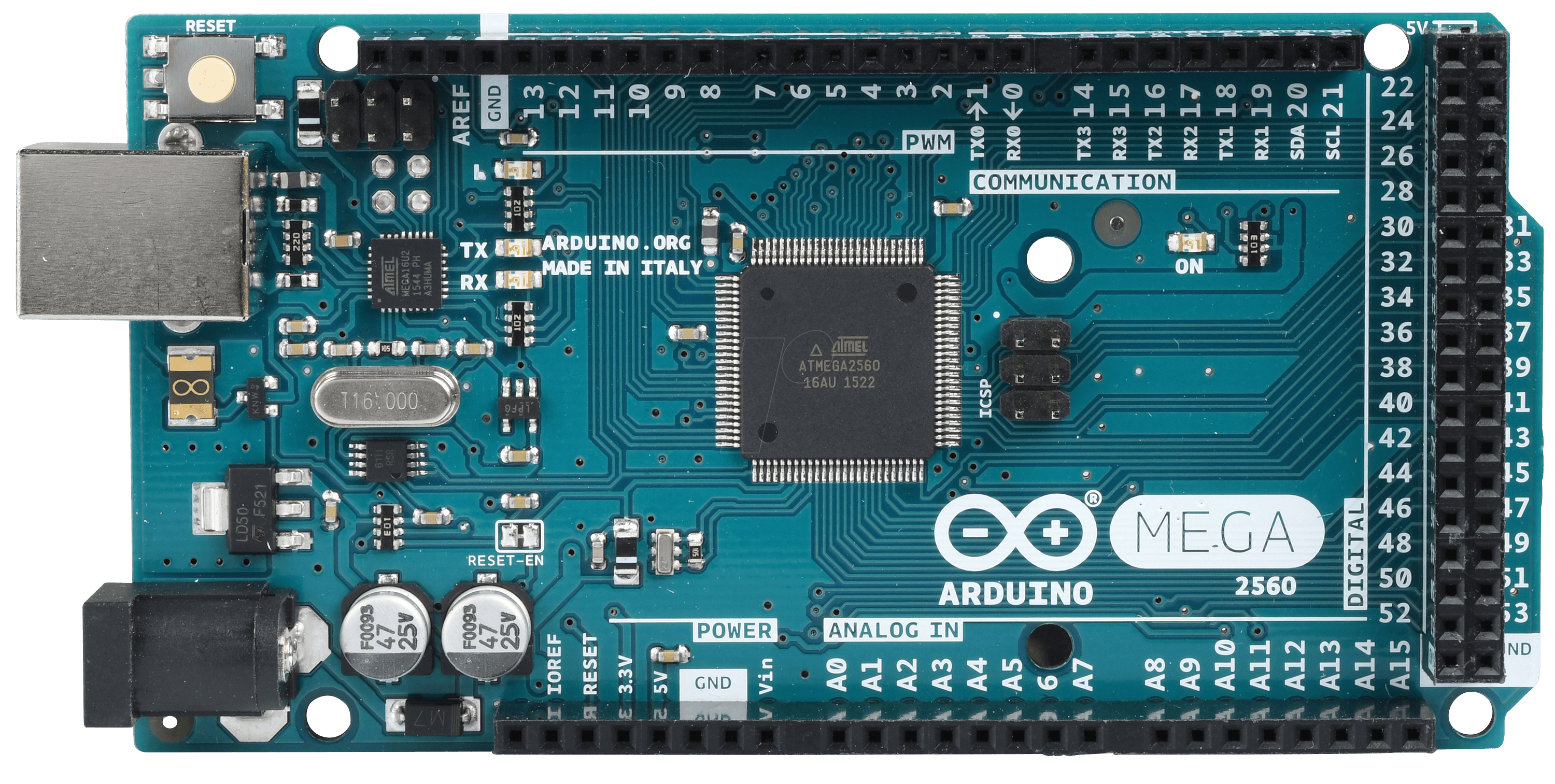Arduino mega atmega usb at