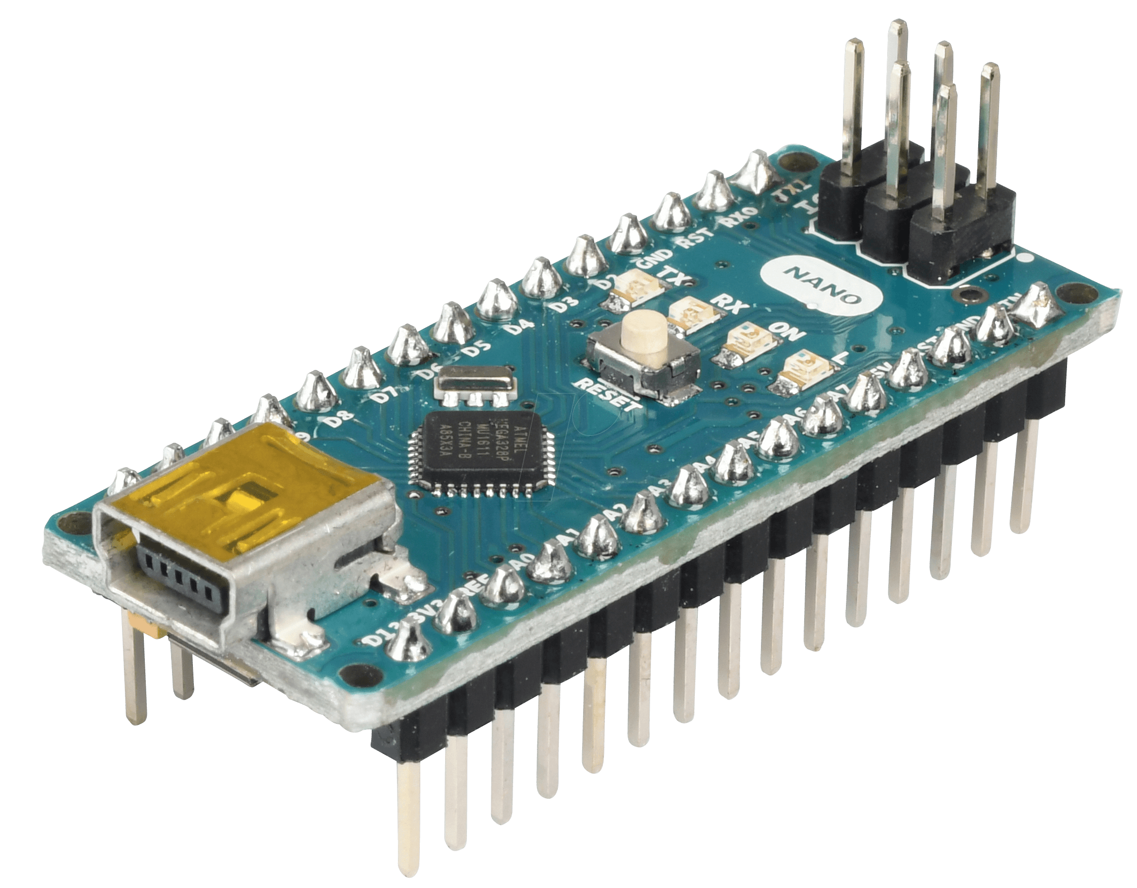Arduino nano v atmega mini usb at
