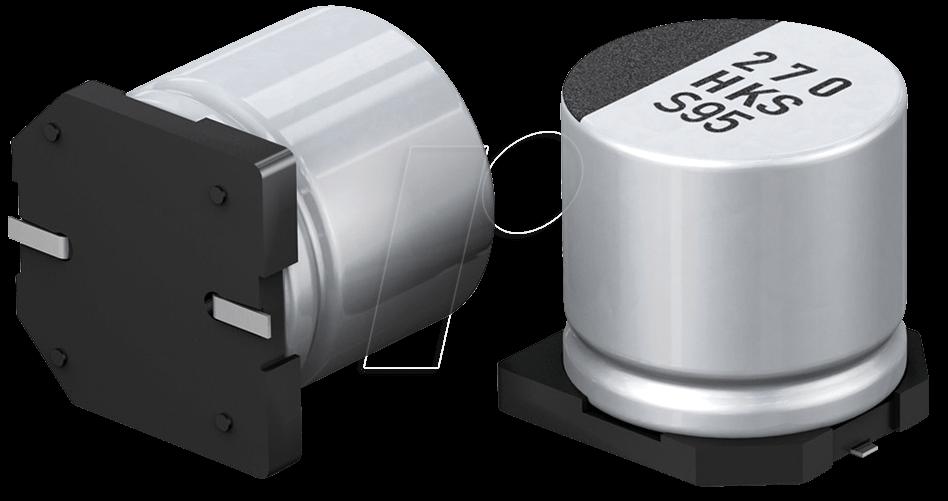 FK 150/10 P - Elko SMD, 150 uF, 10 V, 105°C, low ESR