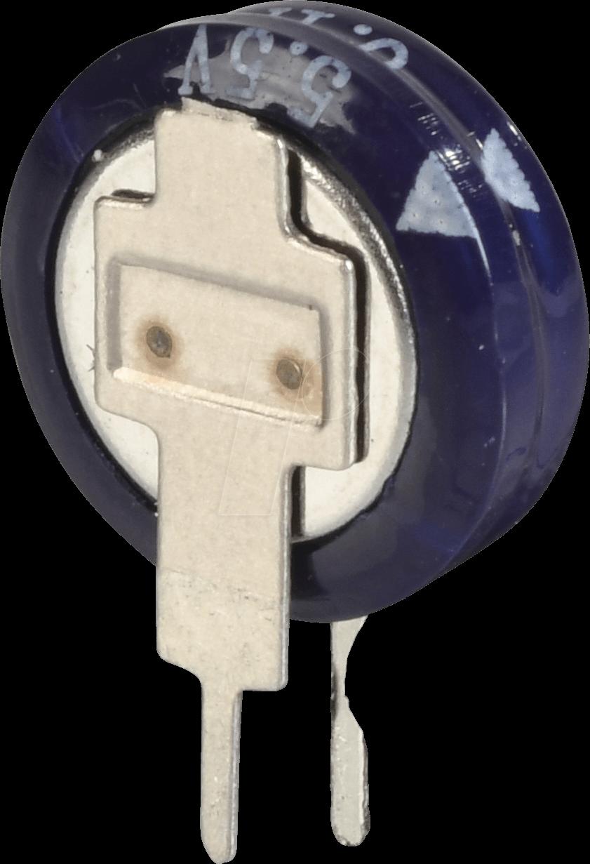 SPK 100.000µF-V - Speicherkondensator, 5,5 V, 100.000 µF