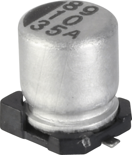 SUNC 35CE47FS - SMD-Elko, 47 µF, 35 V, 105 °C, 1000 h