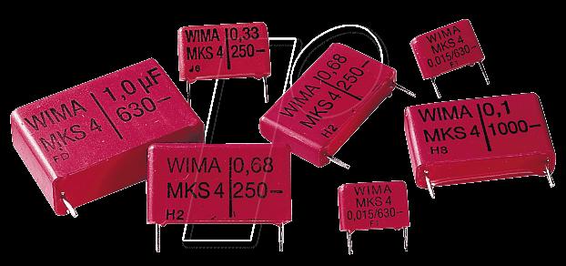 FKP3-630 3,3N - Folienkondensator, 3,3nF, 630V, RM10
