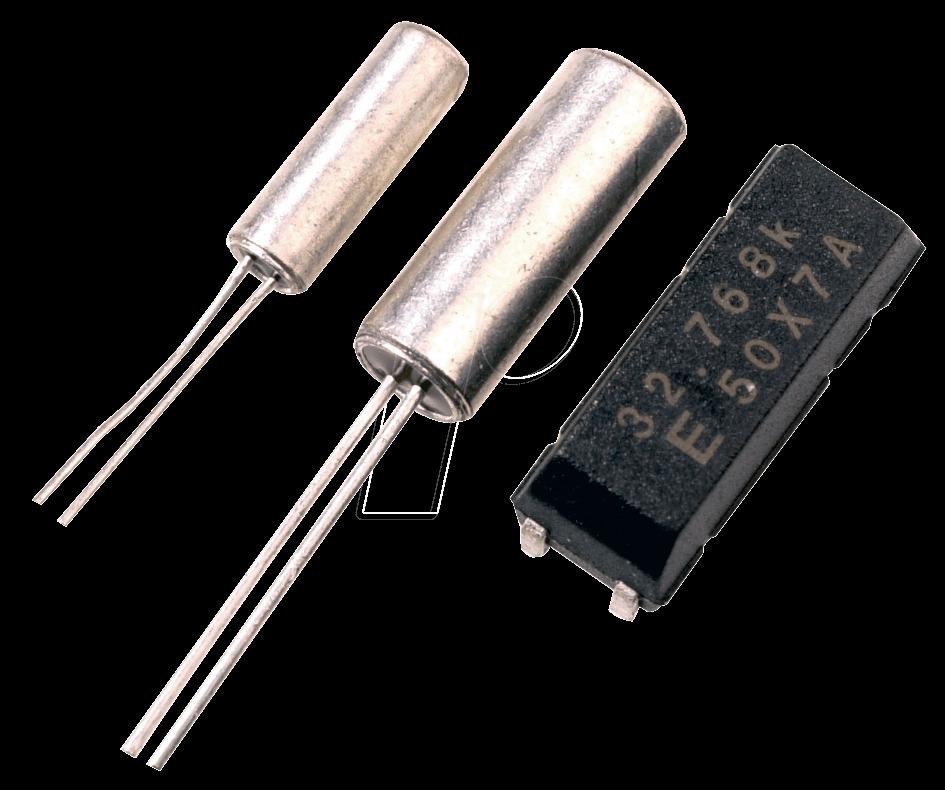 0,032768 - Mini Uhrenquarz, 0,032768 MHz, TC38